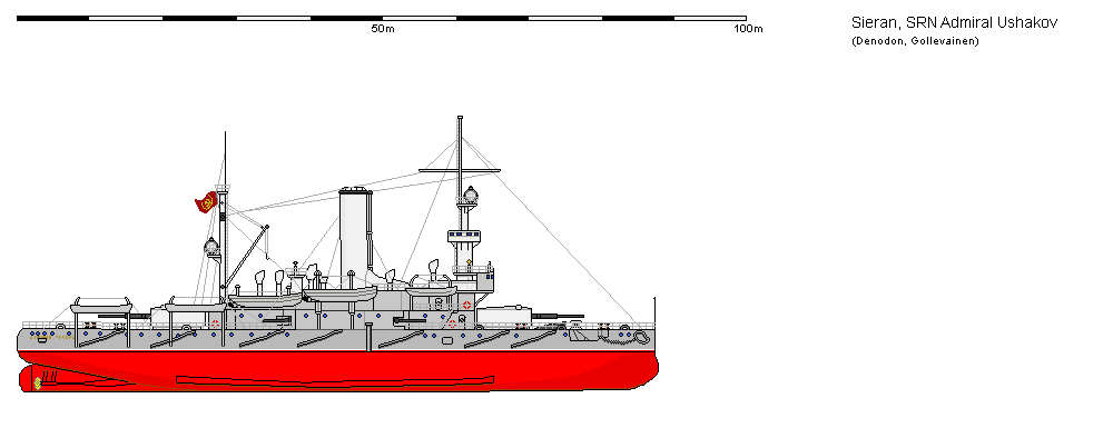 Coastal Defence Ship Admiral Ushakov