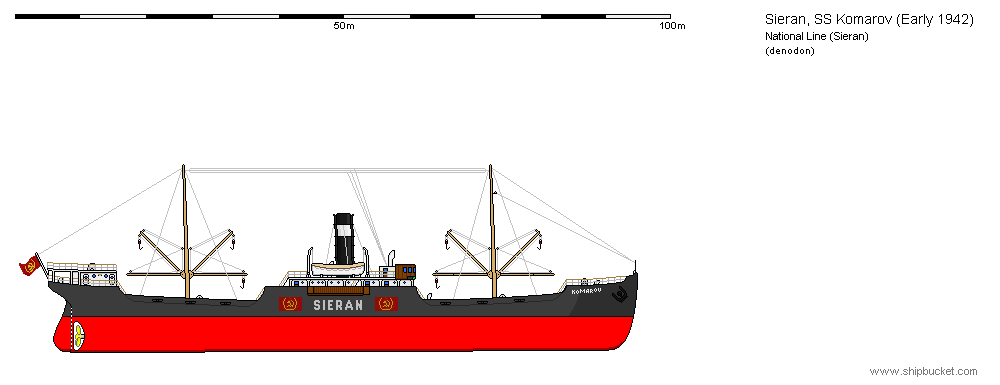 Merchant Ship Komarov